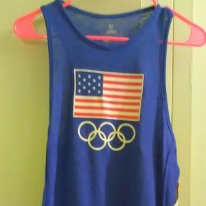 USA Olympic Team Apparel Women's Blue Tank Top XS